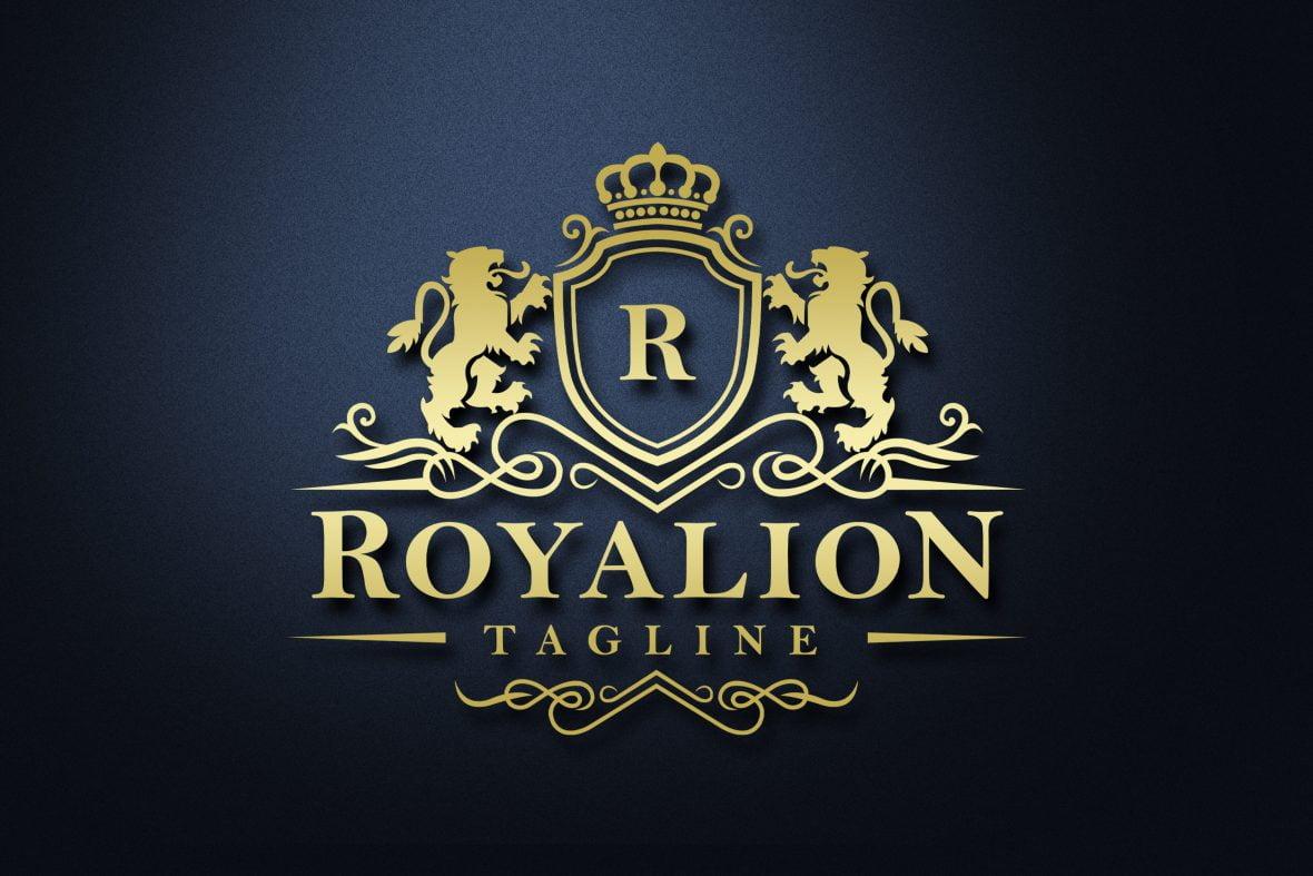 Free Download .PSD Luxury Brand Elegant Royal Logo Design