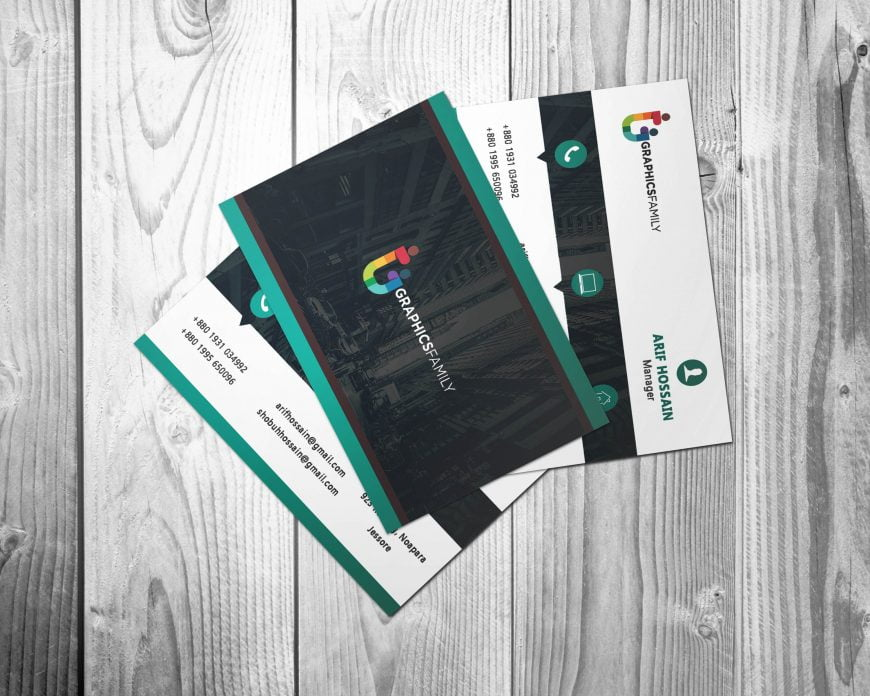 Free Download Global Business Card Design