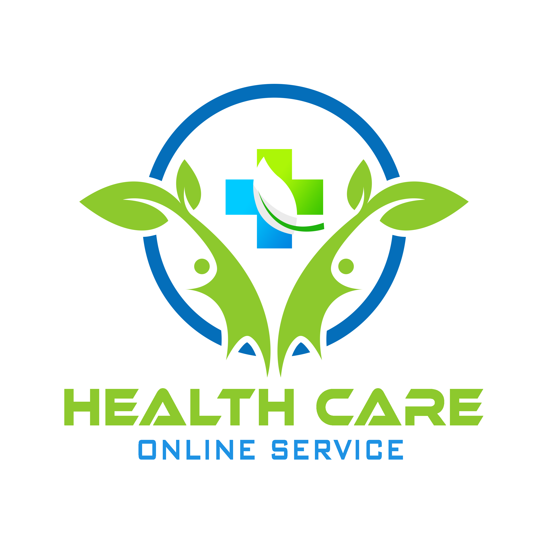 Free Global Health Care PSD Logo Template