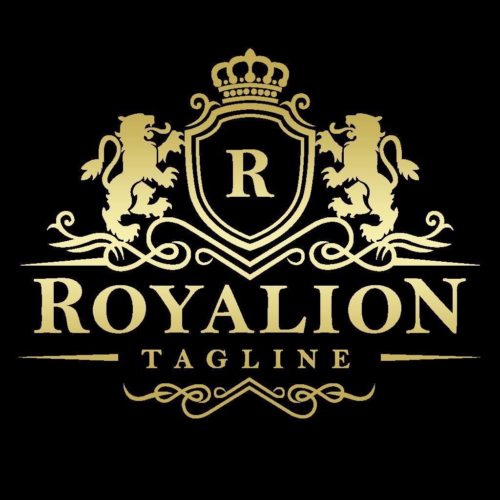 Free Luxury Brand Elegant Royal Logo PNG Transparent
