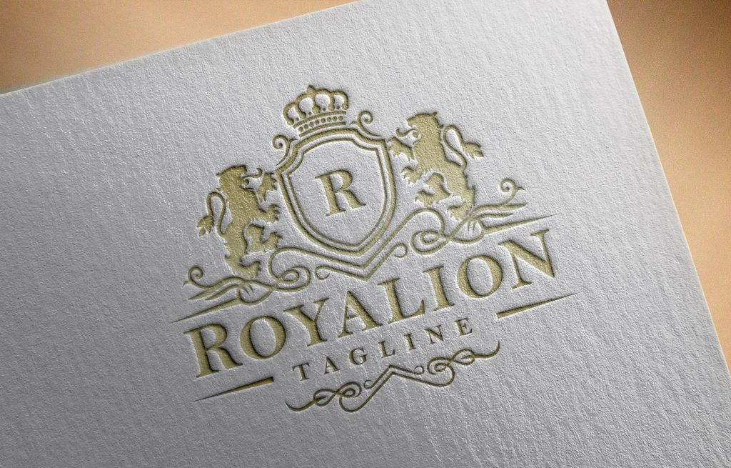 Free Luxury Brand Elegant Royal Logo PSD Download