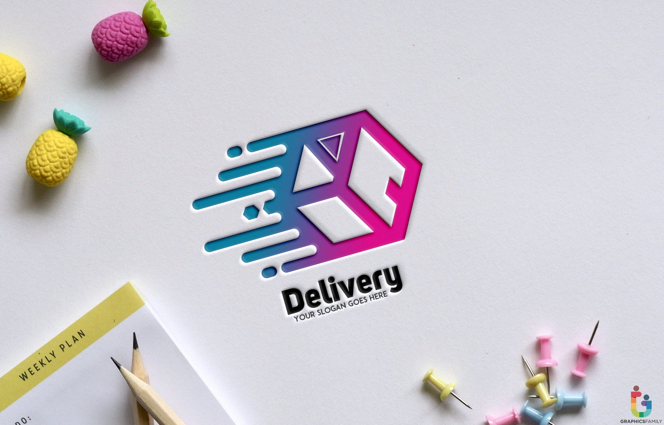 Free-PSD-Delivery-Abstract-Logo-Template