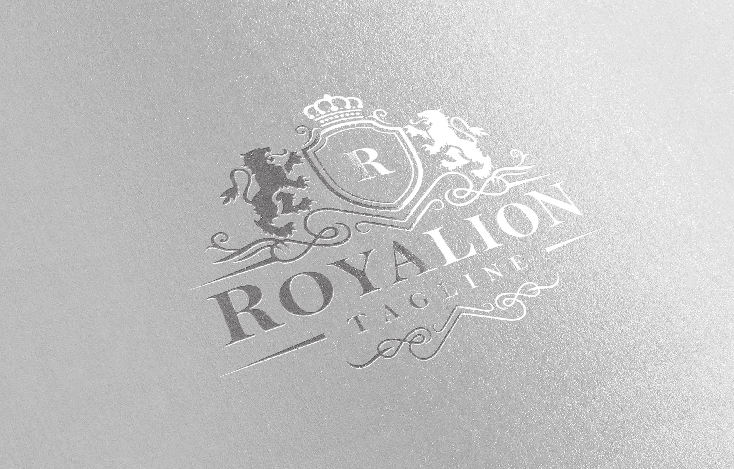Free Professional PSD Luxury Brand Elegant Royal Logo Template