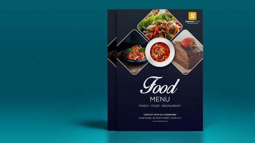 Free Restaurant .PSD Flyer Design