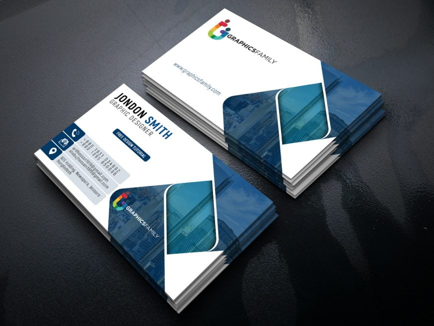 Graphic Artist Professional Business Card Design Template Download