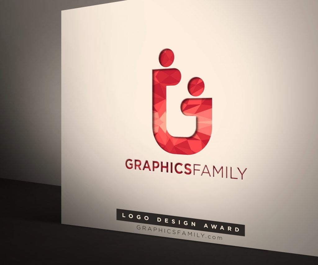 GraphicsFamily-Corporate Logo Mock-Up