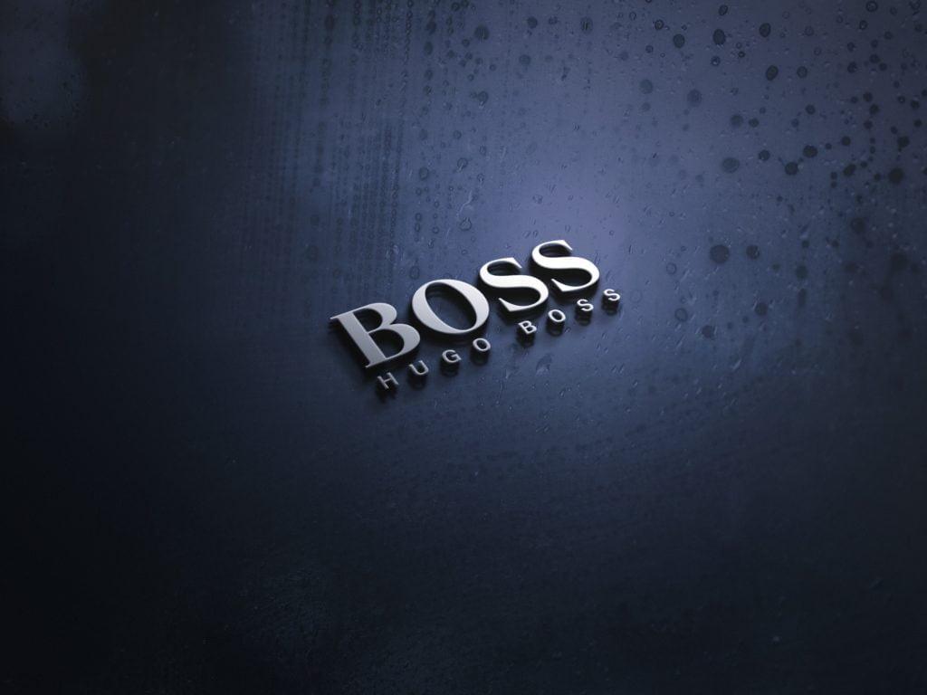 Hugo-Boss-MODERN-3D-LOGO-MOCKUP