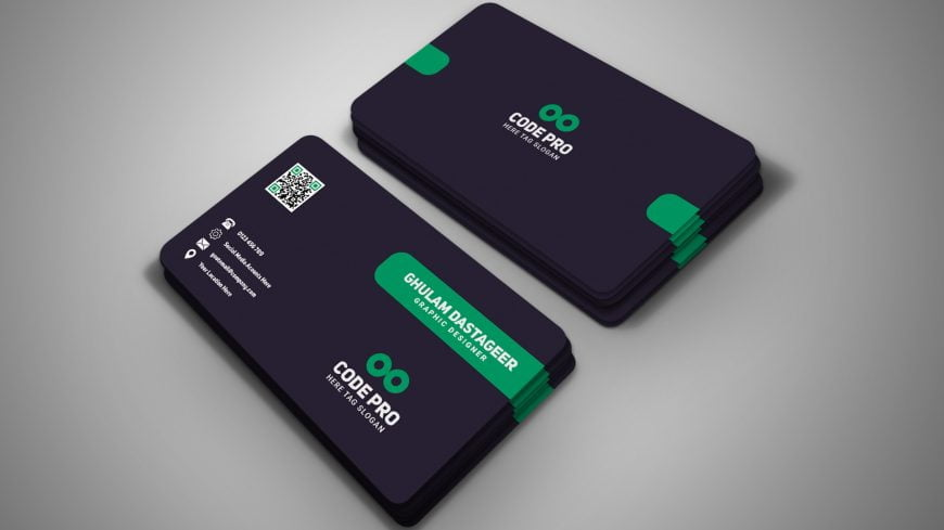 Impressive Corporate Business Card Design