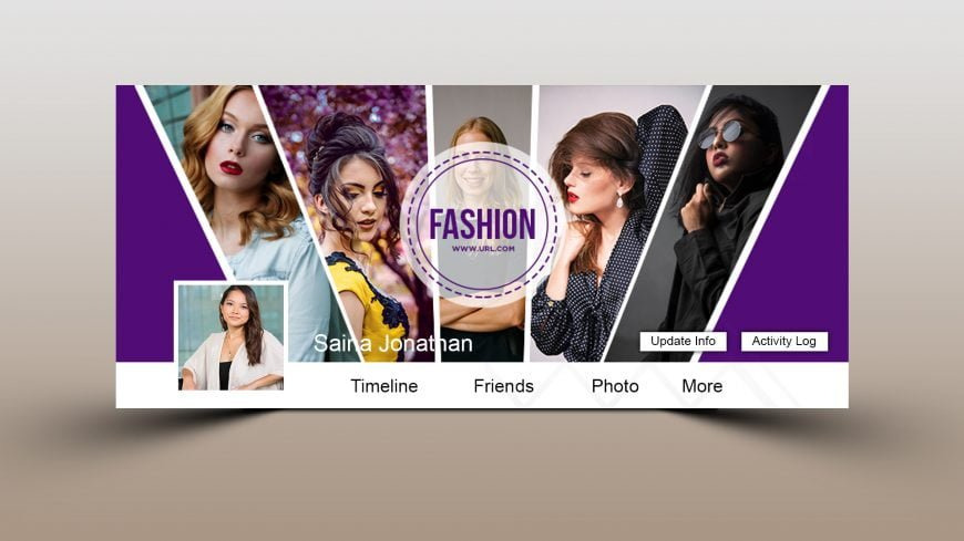 Luxury Fashion Brand Facebook Cover Design
