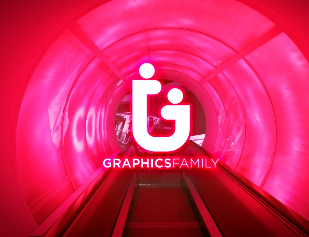 Neon-Red-Light-Logo-MockUp-Free-PSD-Download