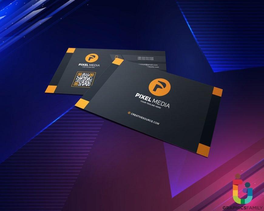 Pixel-Media-Business-Card-Design-Template