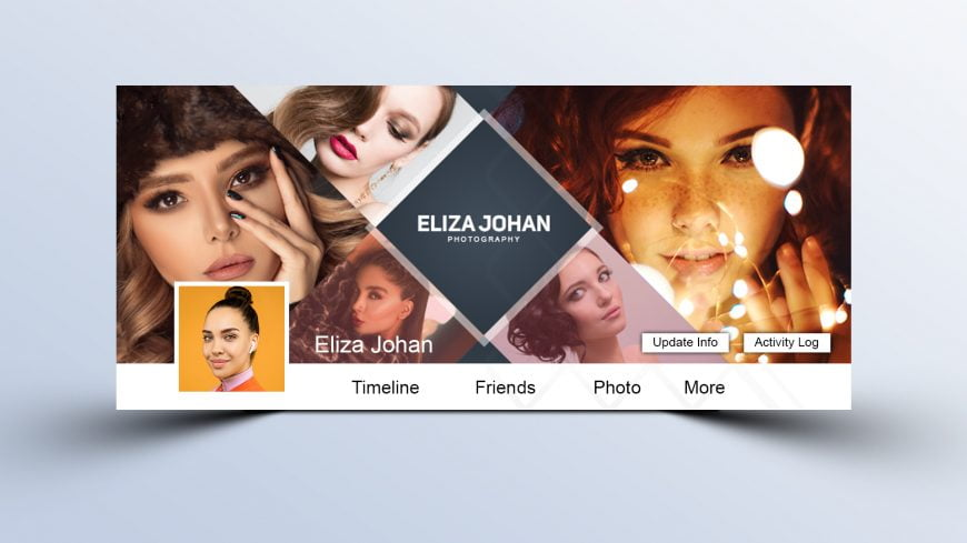 Professional Photographer Facebook Cover Design