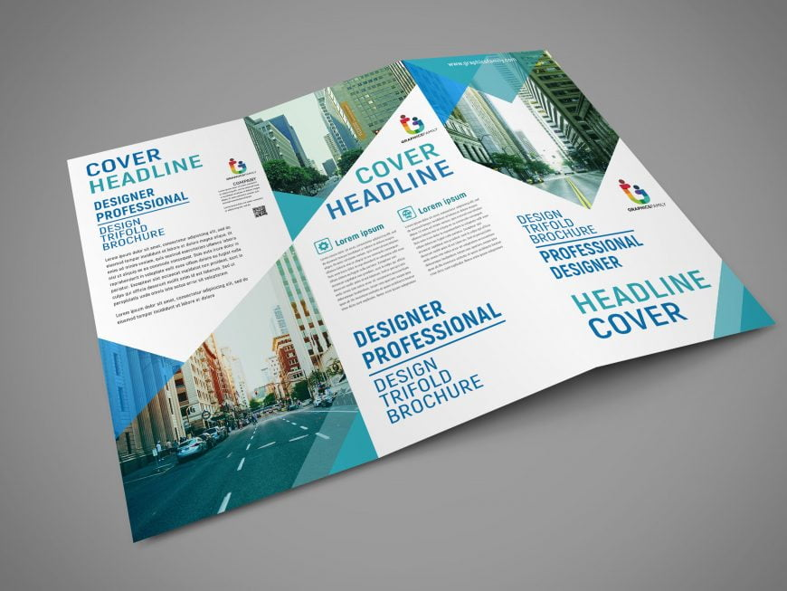 .Psd Professional Trifold Brochure Design Download