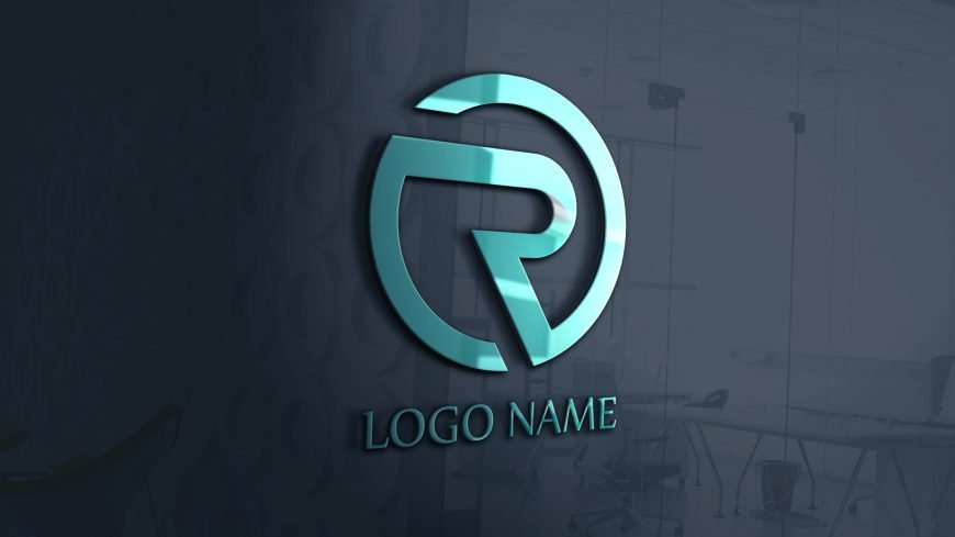R Abstract Logo