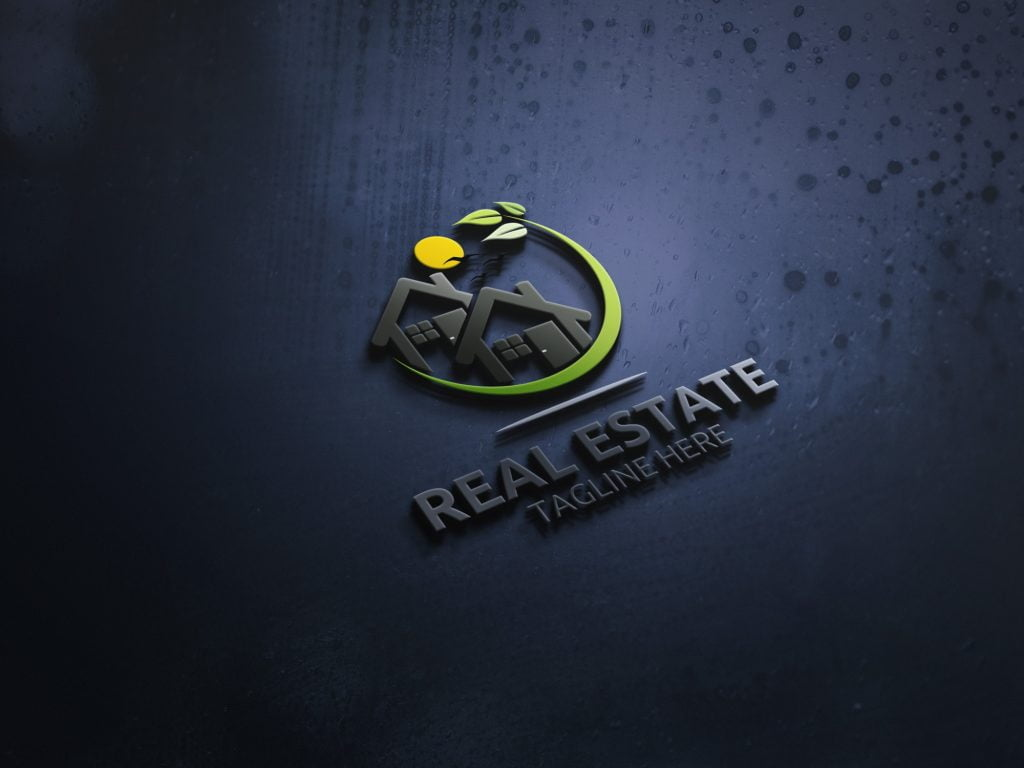 Real-Estate-MODERN-3D-LOGO-MOCKUP