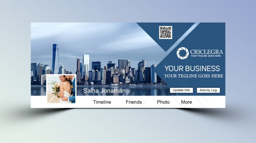 Travel Agency PSD Facebook Cover Design