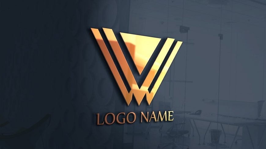 W Free .PSD Abstract Logo