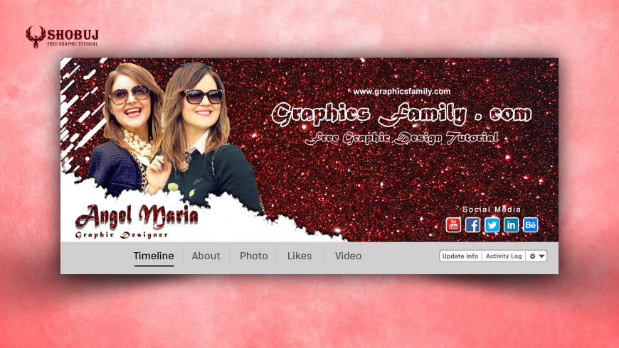 Woman Human Resources Manager Facebook Cover Design