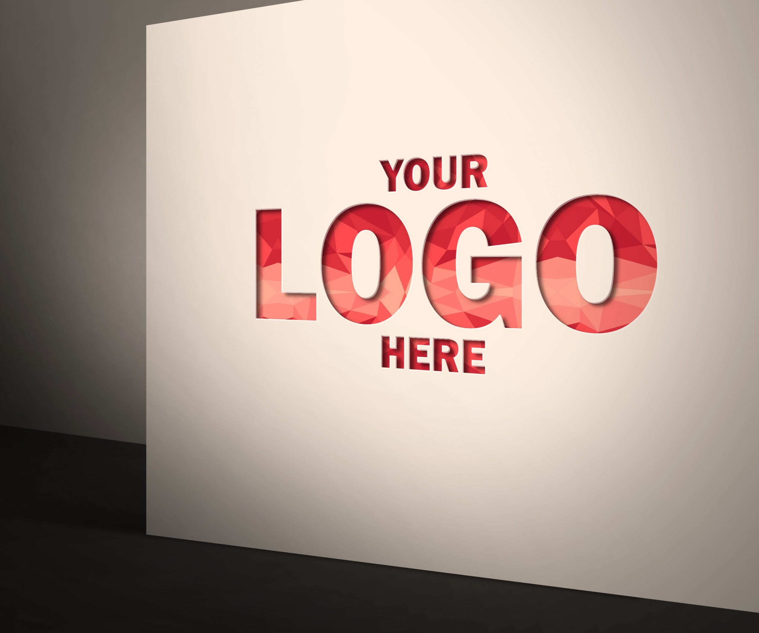 Your-logo-here-Corporate Logo Mock-Up