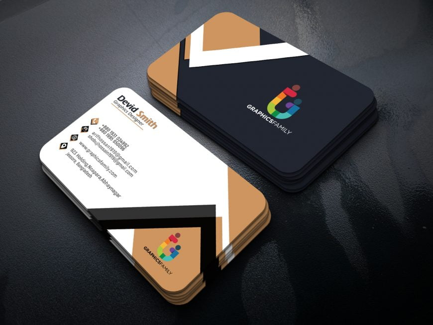 Advertising coordinator Business Card Design