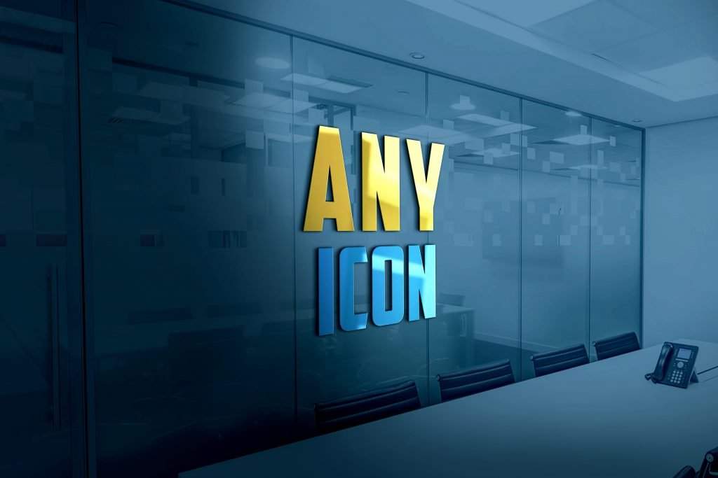 Any-Icon-3D-Glass-Logo-Mockup-Free-Download