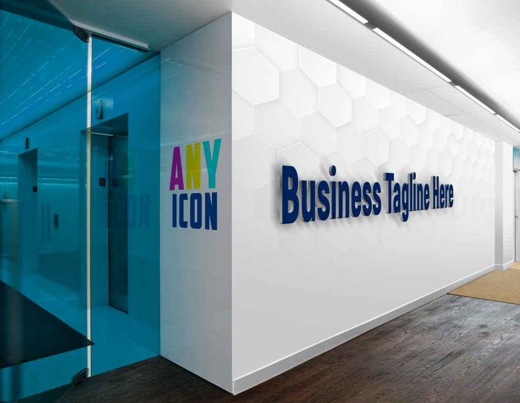 Any-Icon-3D-Wall-Logo-&-Slogan-Mockup