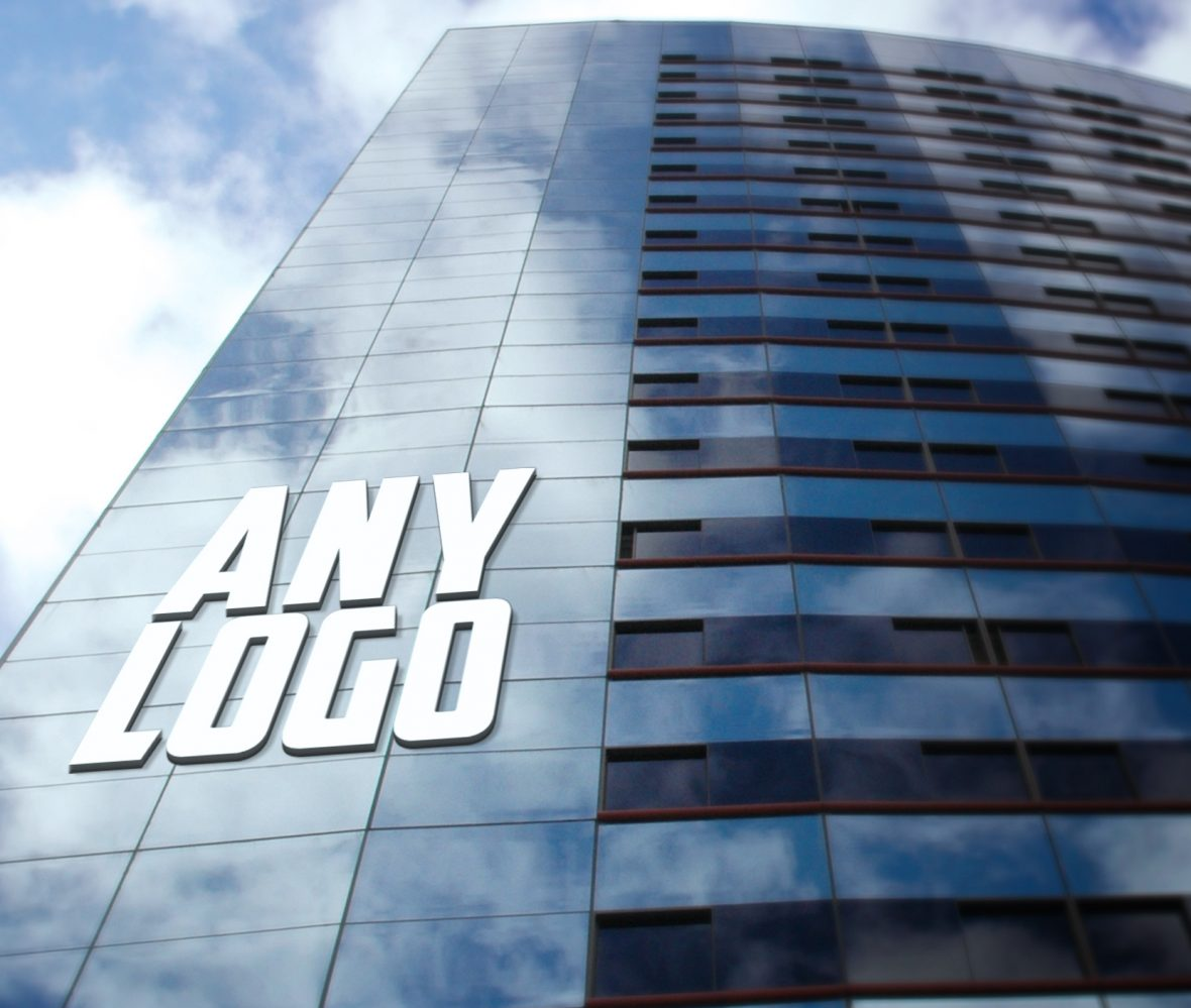 Any-Logo-Office Building Logo Mock-Up