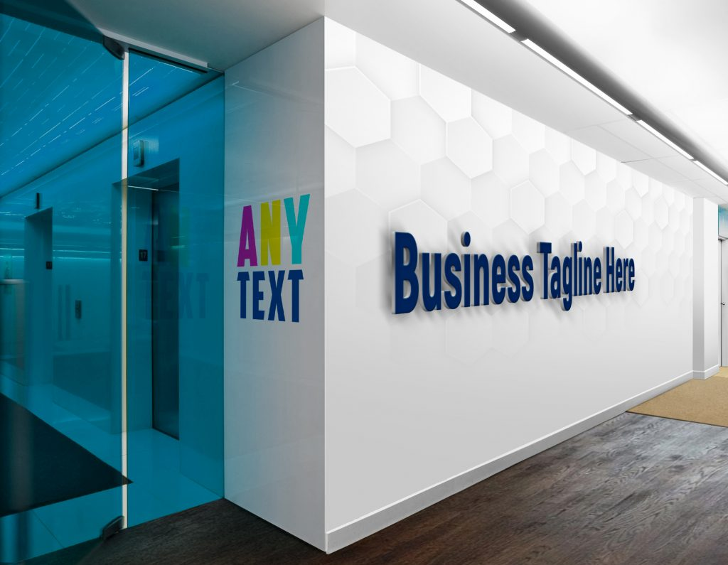 Any-Text-3D-Wall-Logo-&-Slogan-Mockup
