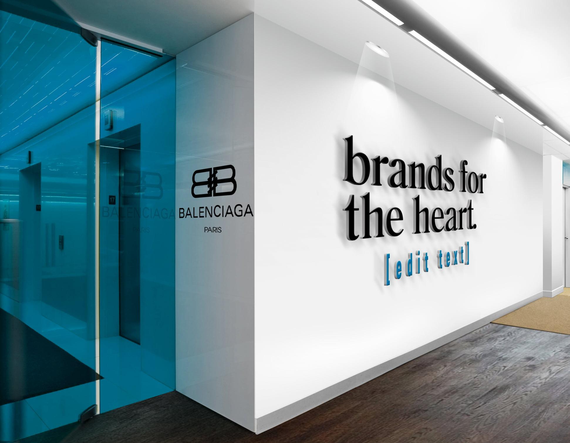 Balenciaga-3D-Wall-Logo-&-Slogan-Mockup