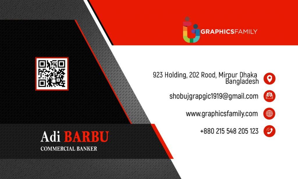 Commercial-Banker-Business-Card-Design-Back-Part