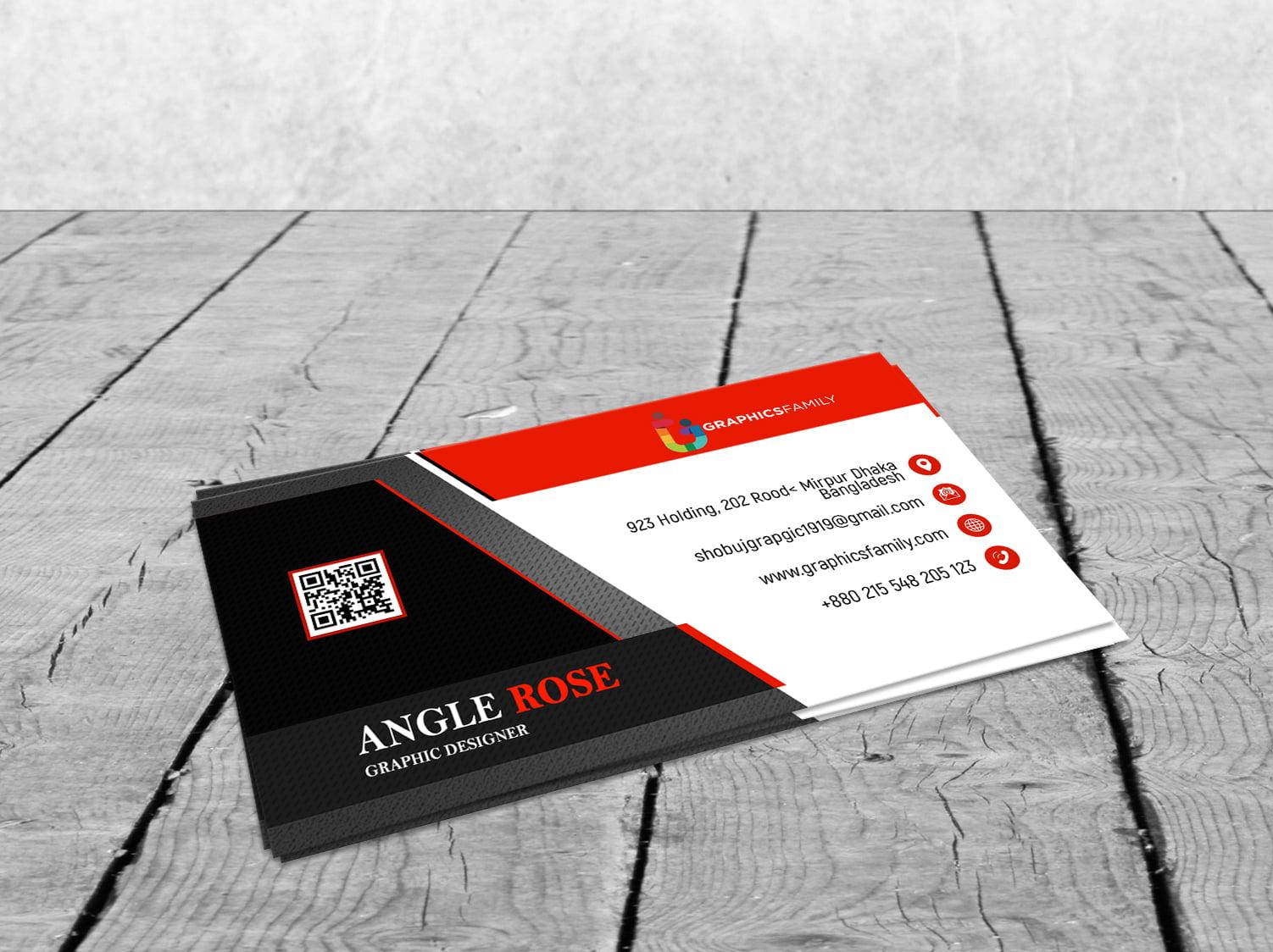 Commercial Banker Business Card Design Download