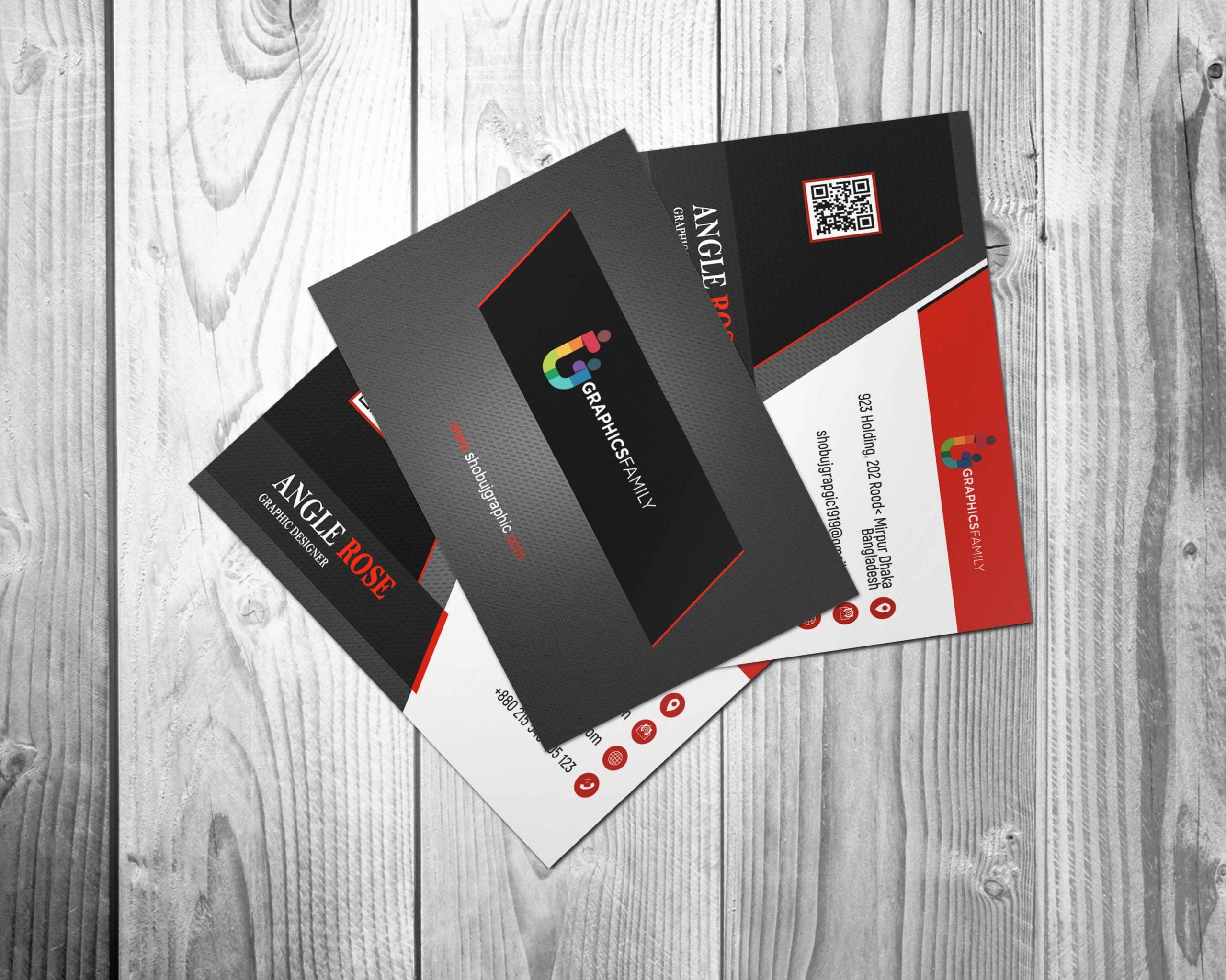 Commercial Banker Business Card Design Free Download