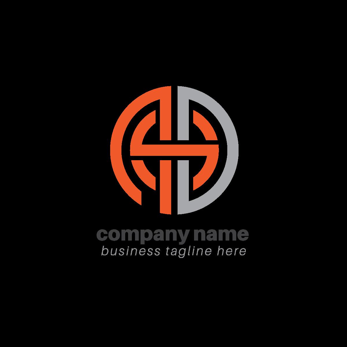 Creative-Typographic-Logo-PNG-Transparent