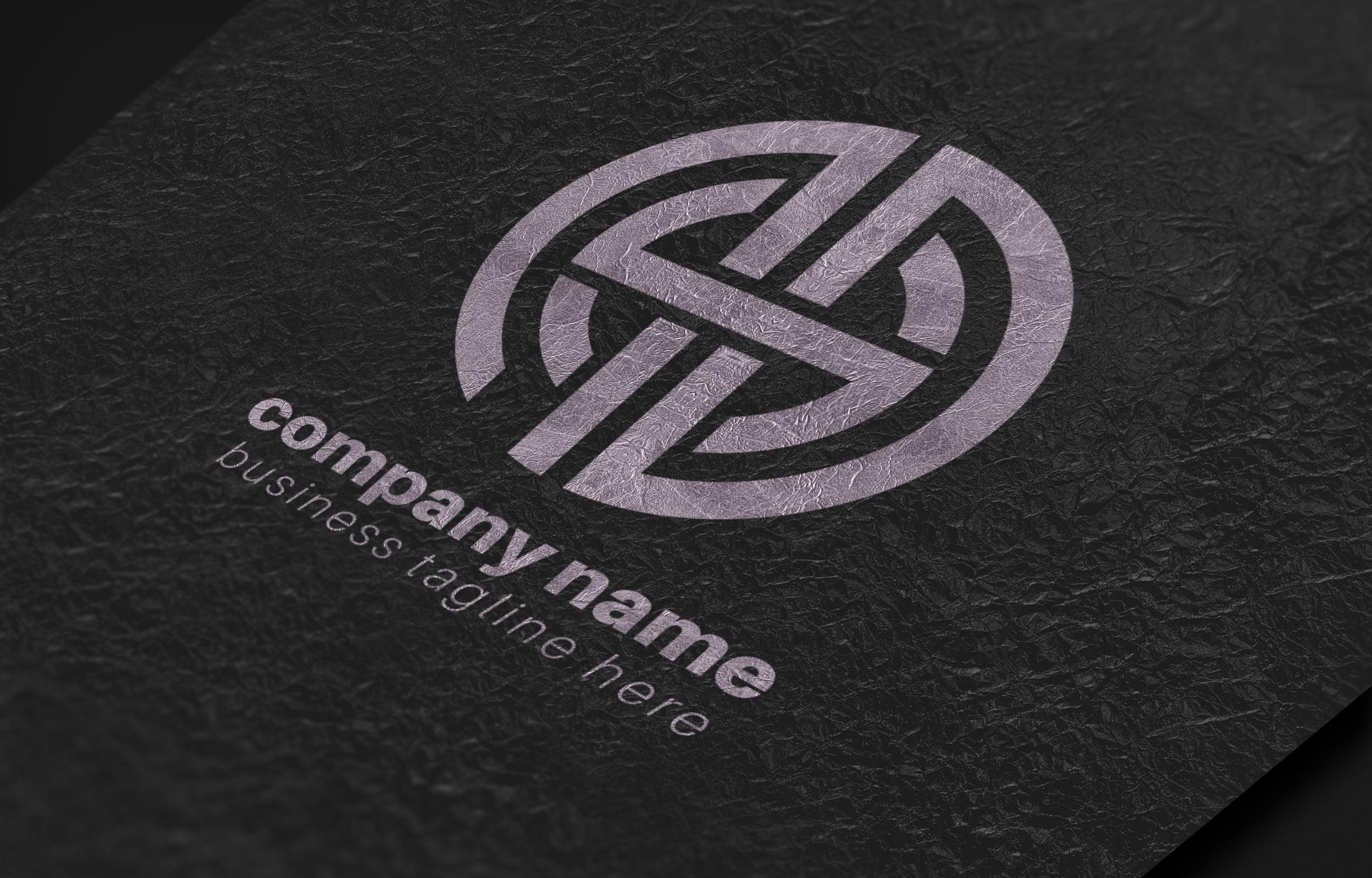 Creative-Typographic-Logo-Template-download