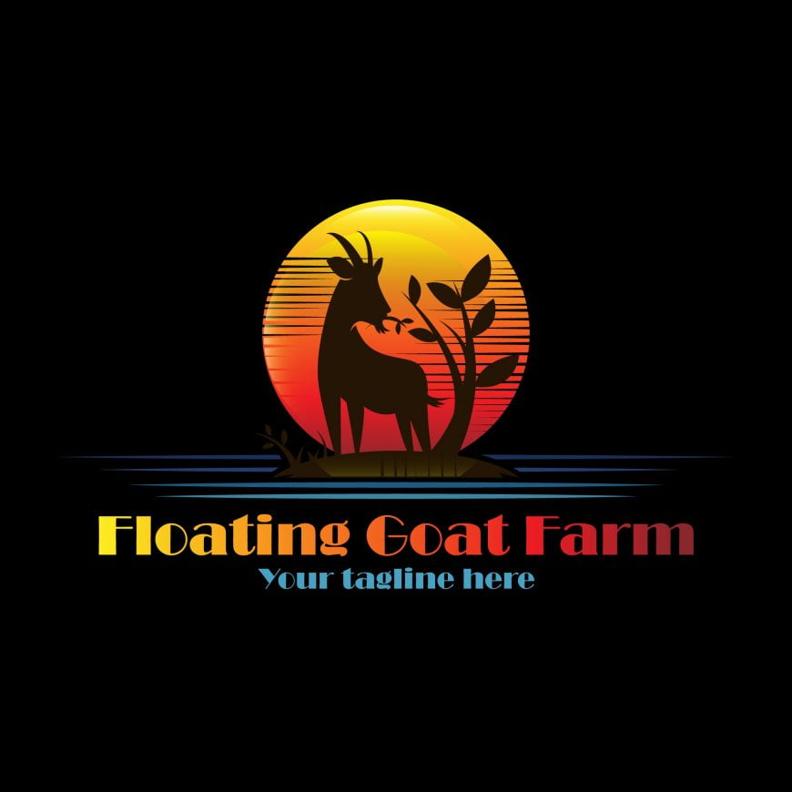Floating Goat Farm Logo