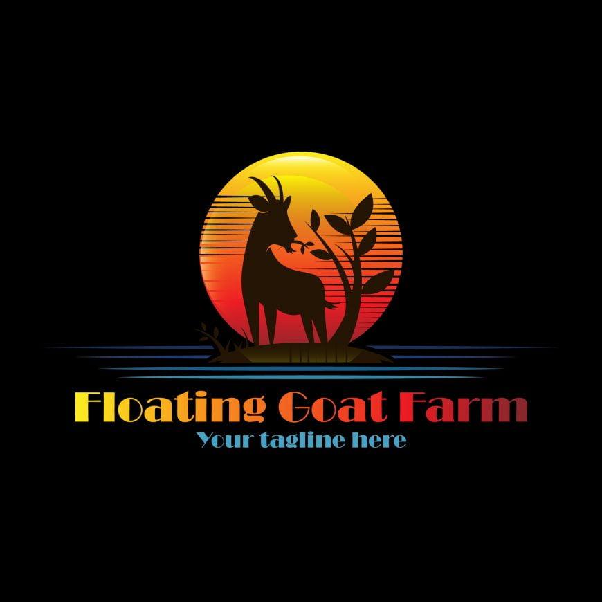 Floating Goat Farm Logo