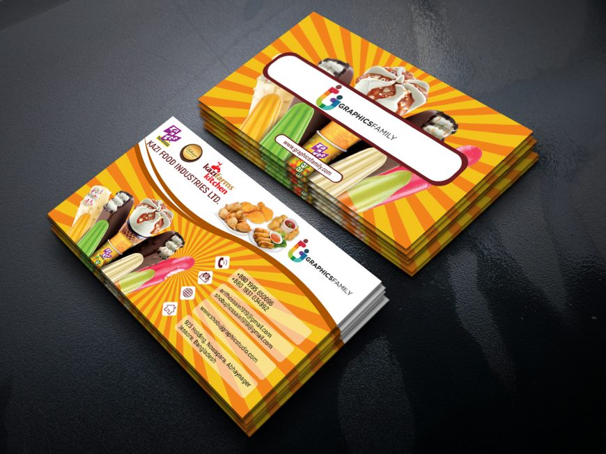 Food&Sweets Business Card Template