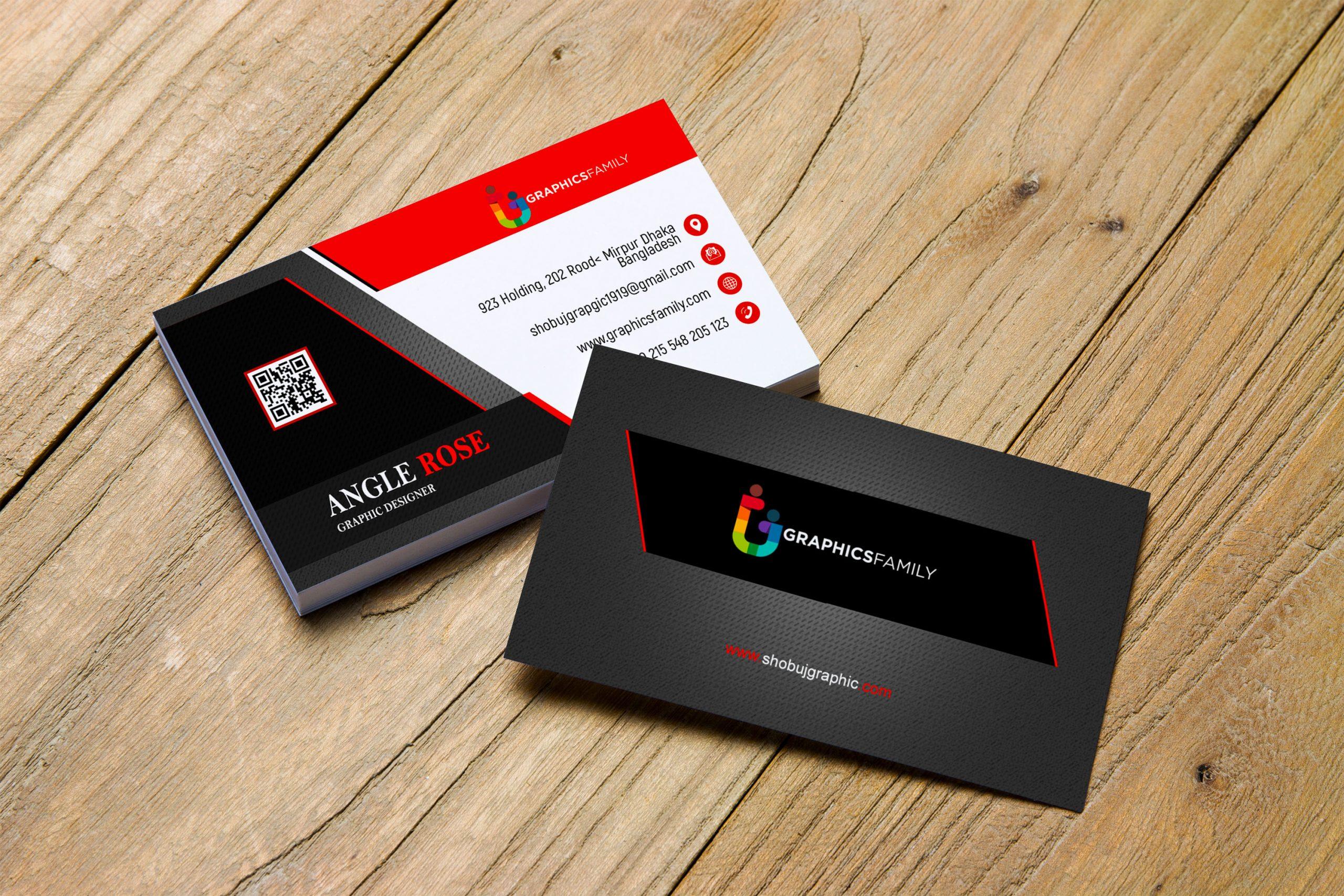 Free Commercial Banker Business Card Design Download