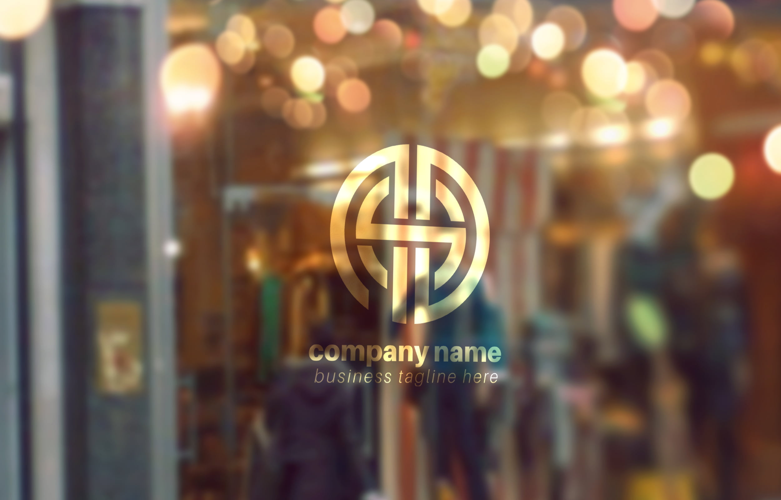 Free-Download-Creative-Typographic-Logo-Template