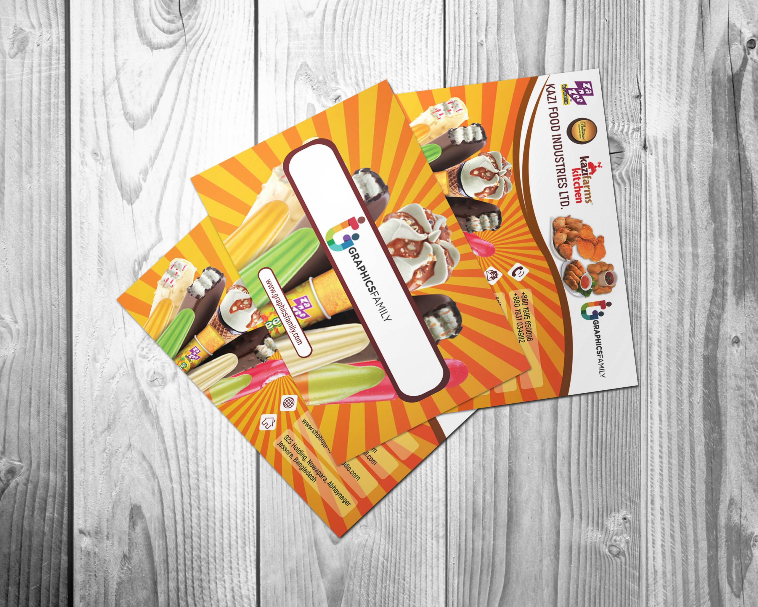 Free Download Food&Sweets Business Card Template
