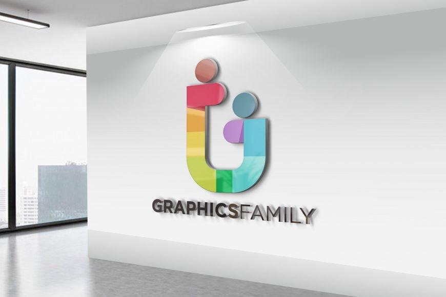 Free-Realistic-3D-Wall-Logo-MockUp