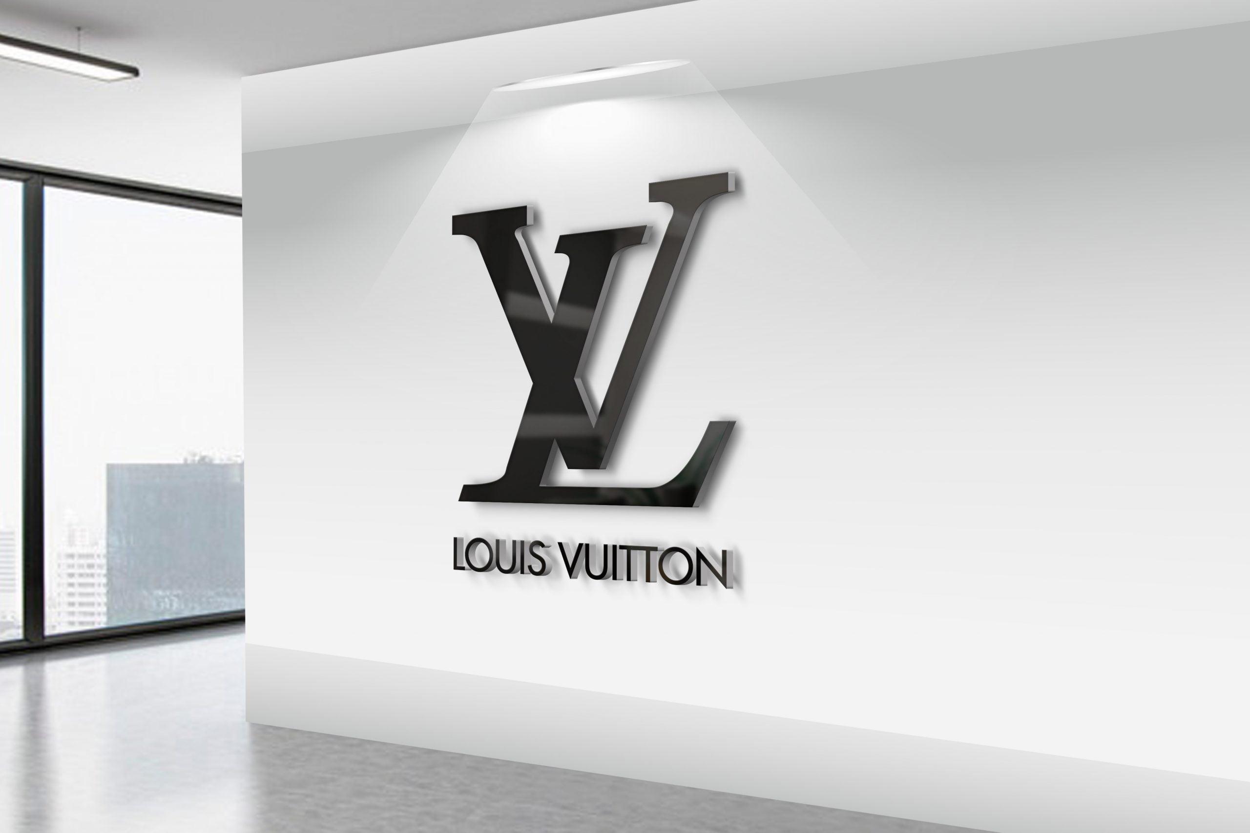 Louis-Vuitton-3D-Wall-Logo-MockUp