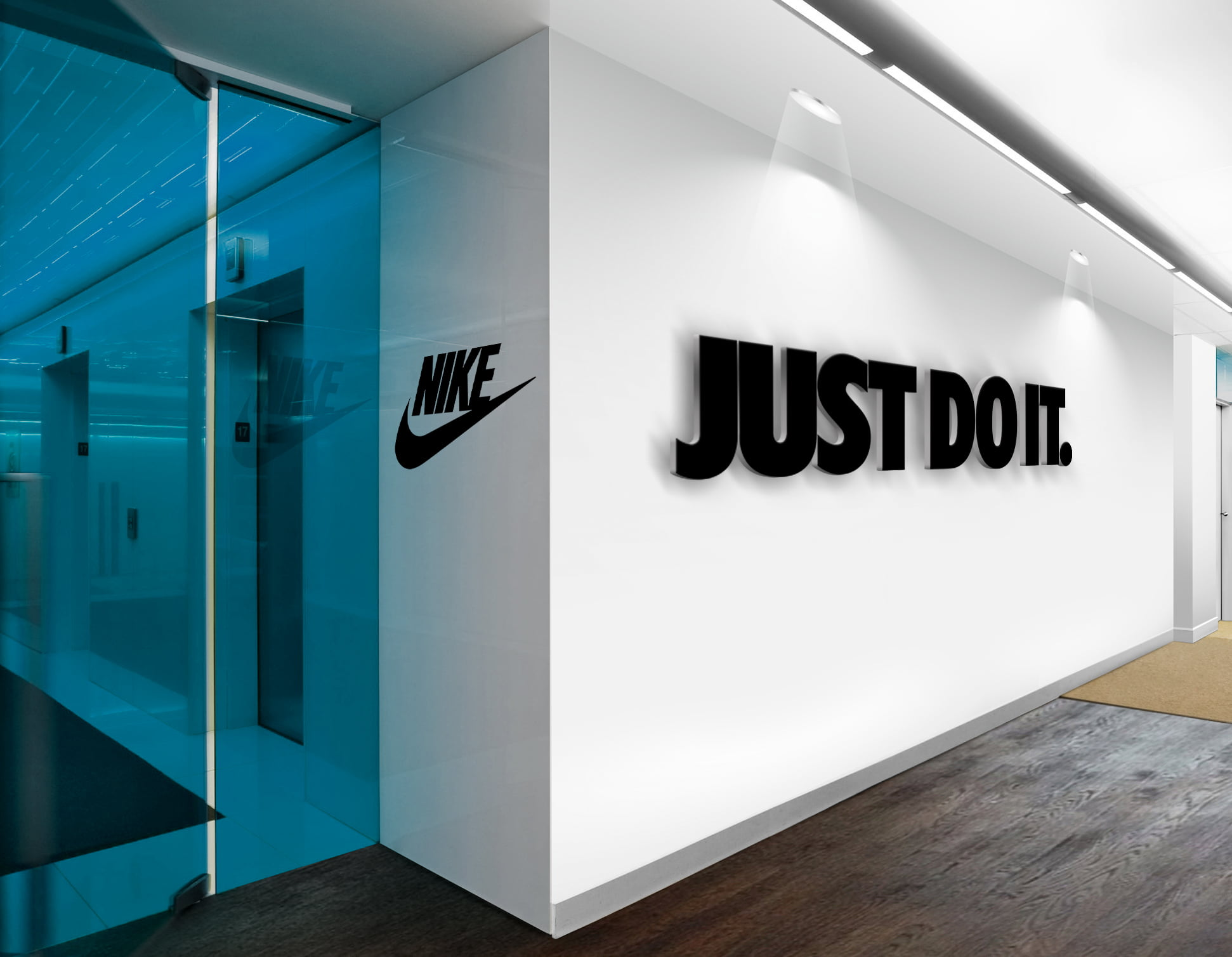 Nike-Just-Do-It-3D-Wall-Logo-&-Slogan-Mockup
