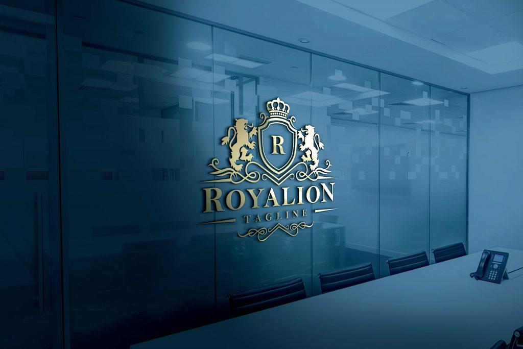 Royal-Elegant-3D-Glass-Logo-Mockup-Free-Download