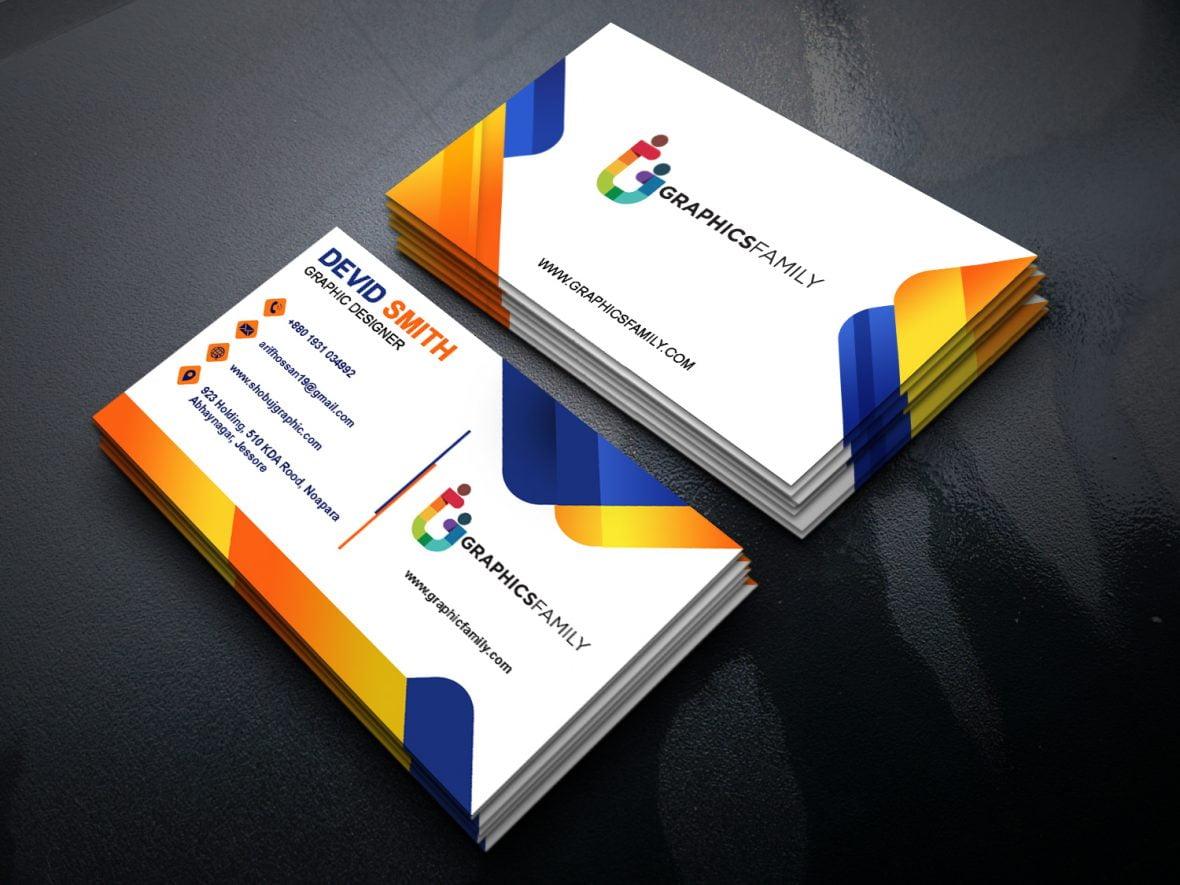 account executive business card design