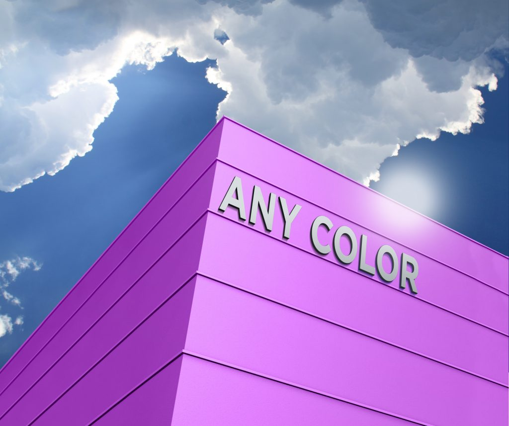 Any Color Free Building Logo Mockup