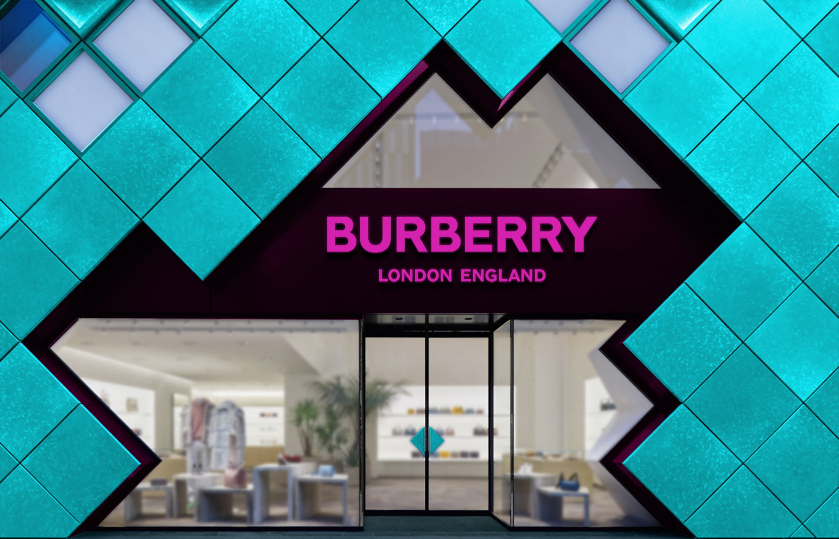 Burberry-Storefront-Logo-Mockup