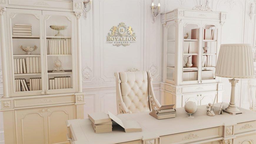 Royal Luxury Logo Mockup