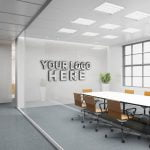 Free Office Logo Mockup
