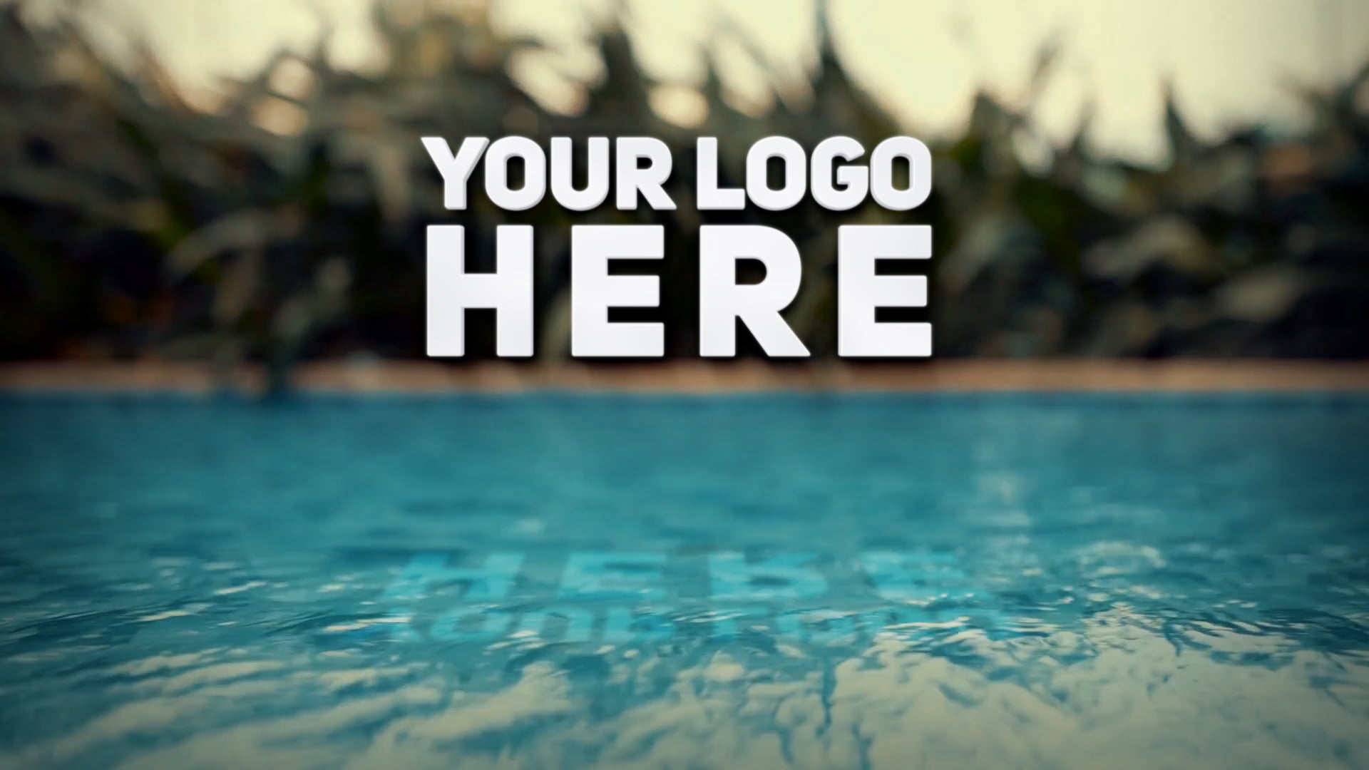 Photoshop Logo Animated Mockup